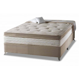 Cama Box + Colchão Casal Eruditto - One Side Pillow Herval 138x188x64